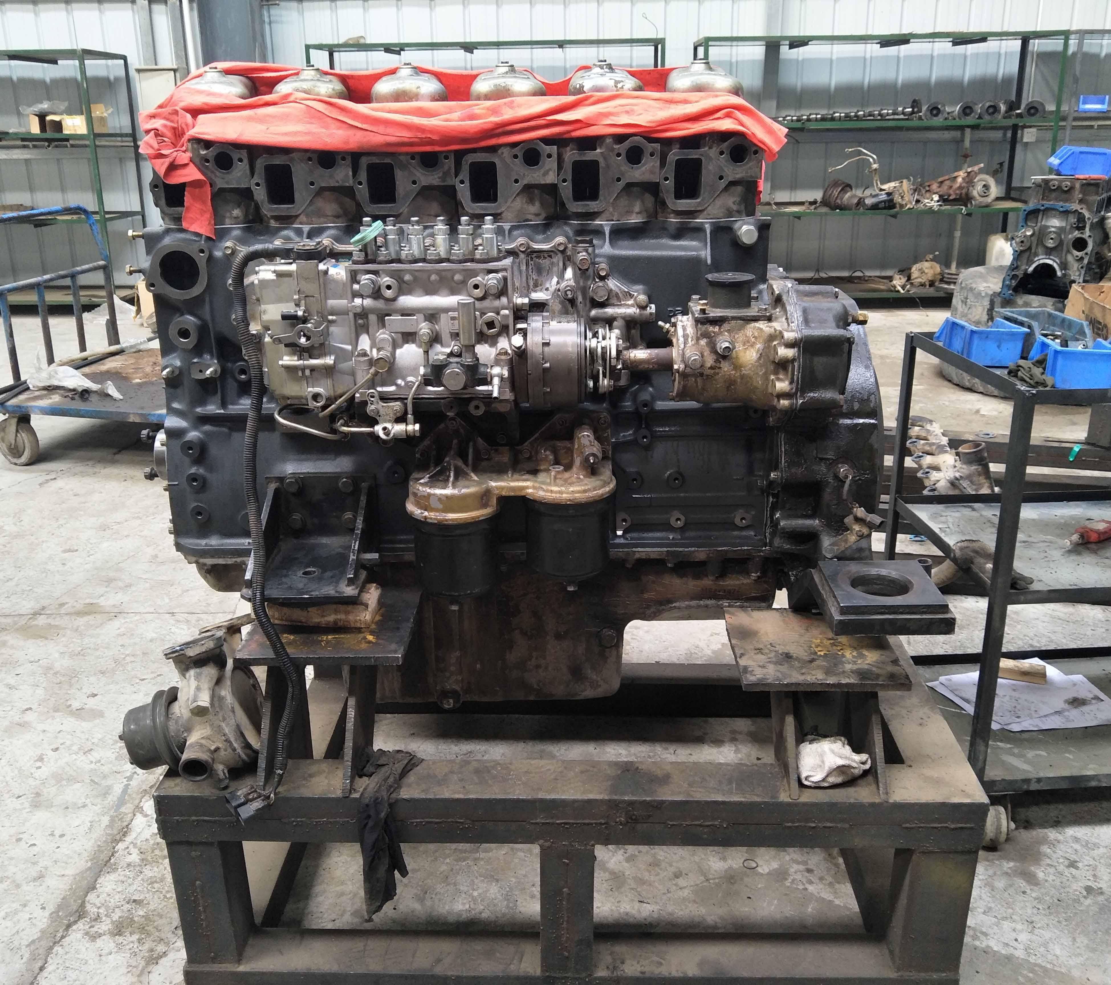 神钢SK460-56D24发动机大修