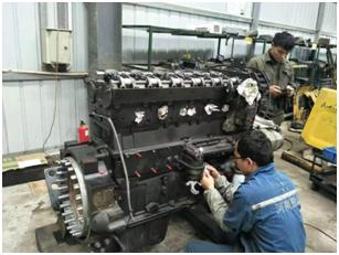 工程机械配件销售与维修